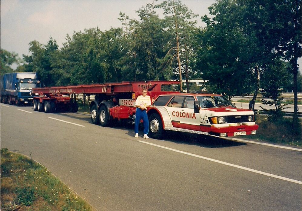 New Ford Trucks >> Ford Granada Estate mounted to a MAN-Underfloor-Chassis | Flickr