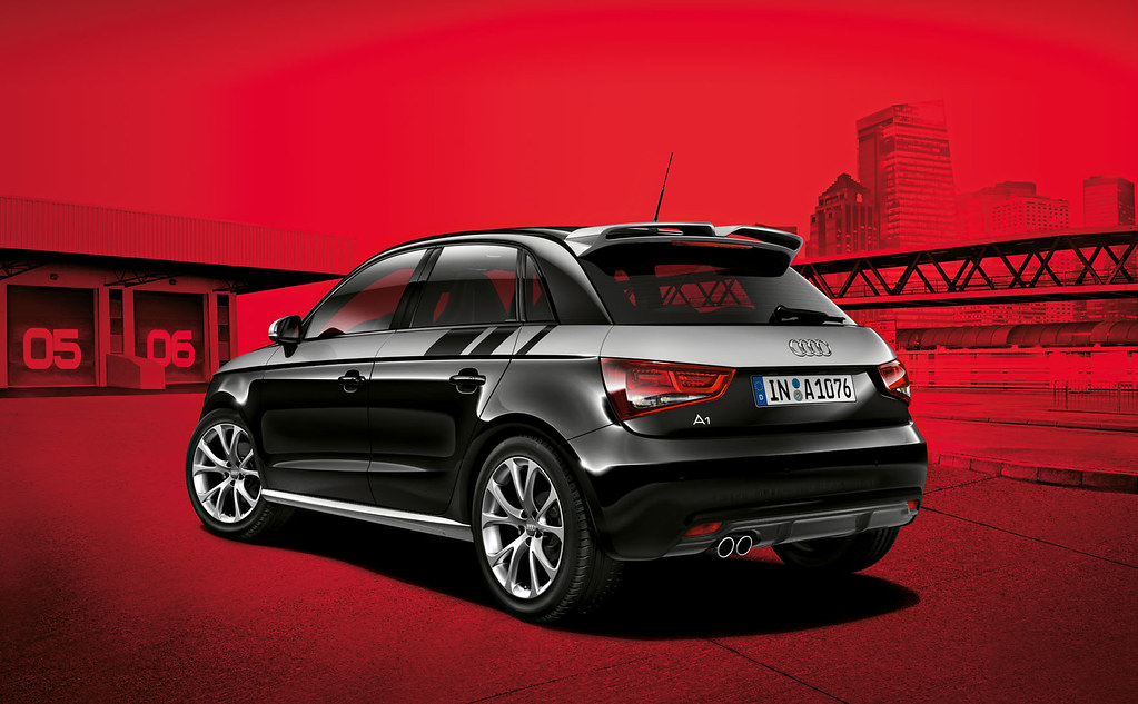 audi a1 sportback phantom black pearl effect rear. Black Bedroom Furniture Sets. Home Design Ideas