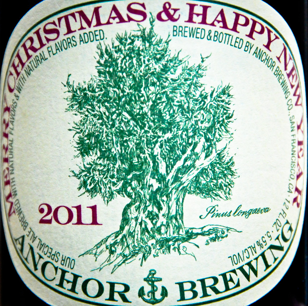 Anchor Brewing 2011 Merry Christmas Happy New Year 2011 Ale By Mbell1975