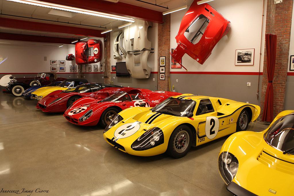 James glickenhaus garage jesse glickenhaus charity the for Garage auto lyon 7