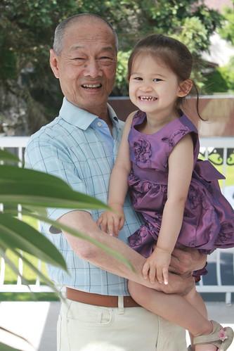 Stp3 granddad loves her weekly visit - 2 10
