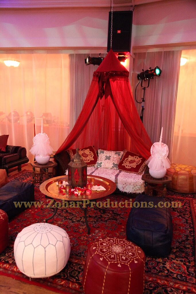 Moroccan Henna Party Decor Zohar Productions Provided