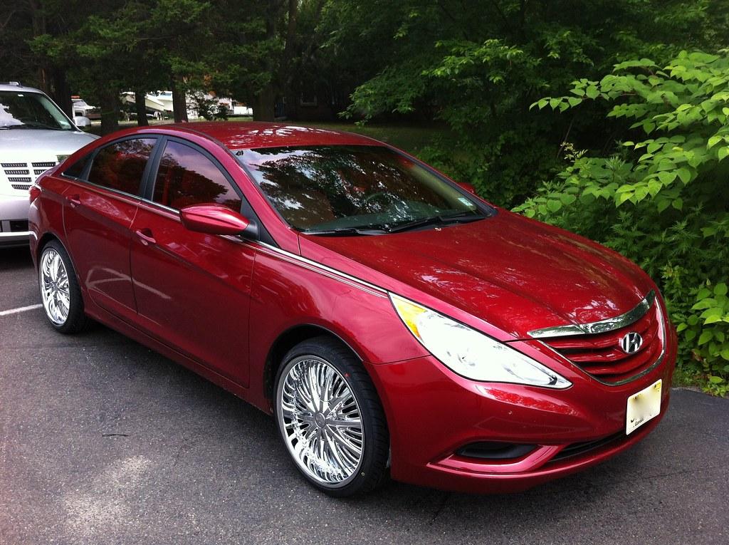 Red Tint Hyundai Sonata Shore Cellular 3 The All