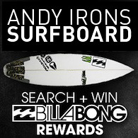 Billabong Sponsored Andy Irons Surfboard | by Search + Win