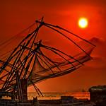 Chinese Fishing Nets, Cochin, India