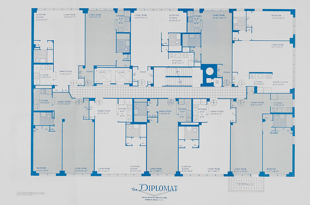 Diplomat 109 10 queens blvd forest hills ny blueprint diplomat 109 10 queens blvd forest hills ny blueprint promotional booklet flickr malvernweather Gallery