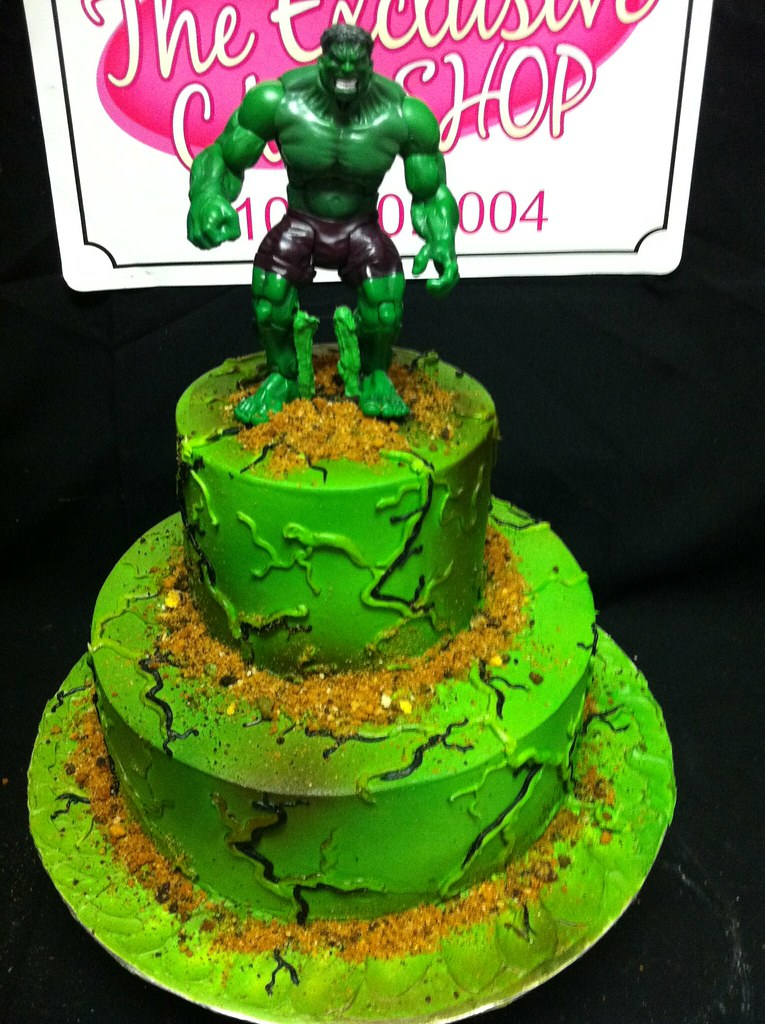 Hulk cake Exclusive Cake Shop Flickr