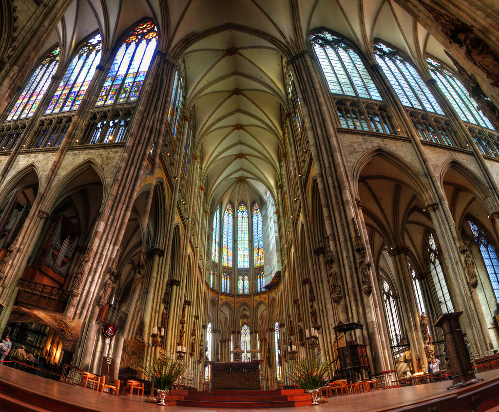 Cologne Cathedral Inside The Famous One Chop1n Flickr
