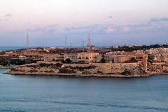Villa Bighi, Kalkara from Valletta - Sunset
