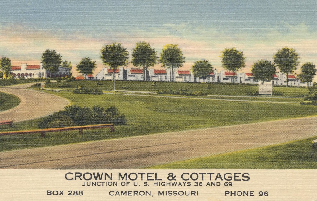 Crown Motel & Cottages - Cameron, Missouri