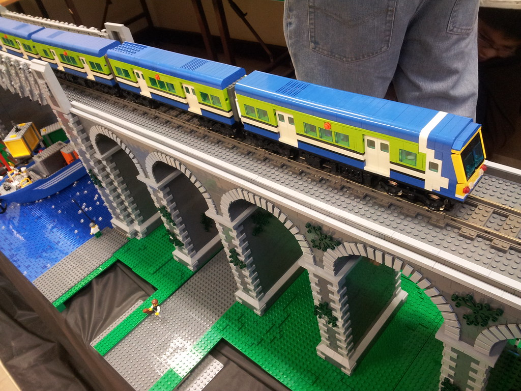Lego Trains At South Dublin Model Railway Show James