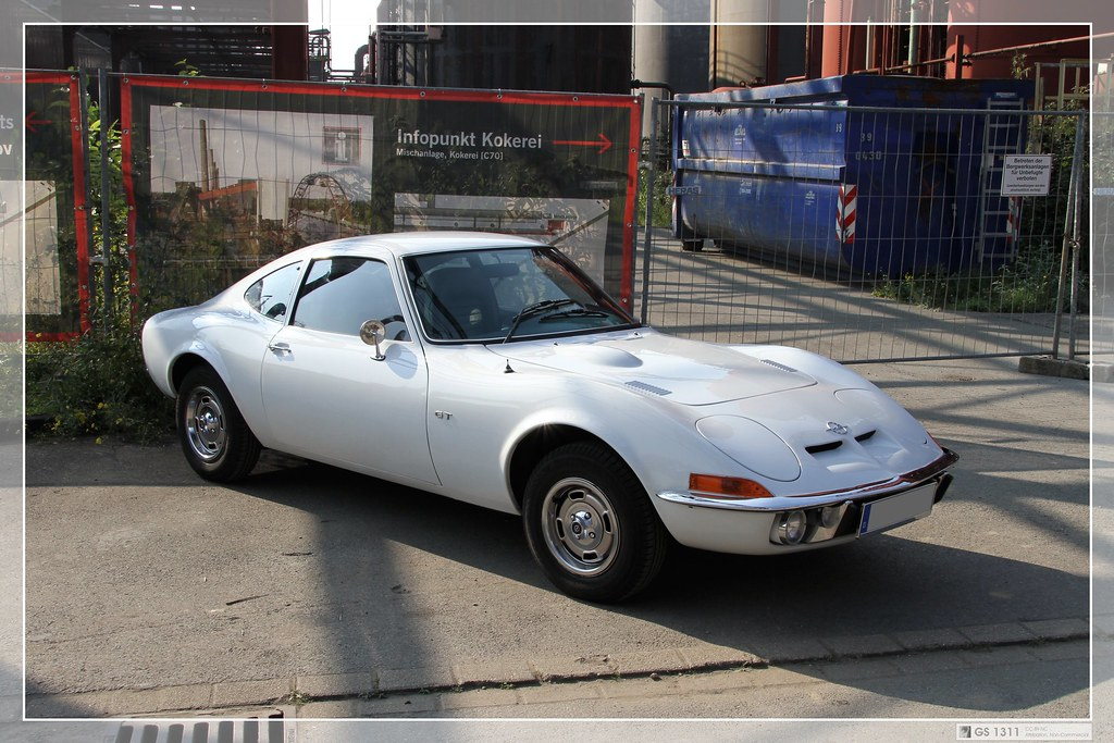 1968 1973 Opel Gt 07 The Opel Gt Is A Two Seat