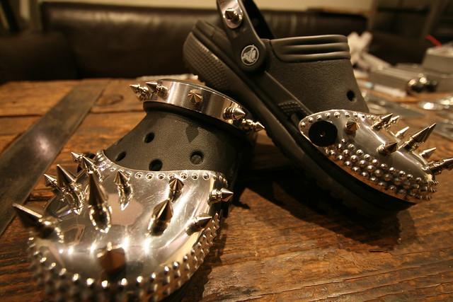 Punk Crocs Flickr Photo Sharing