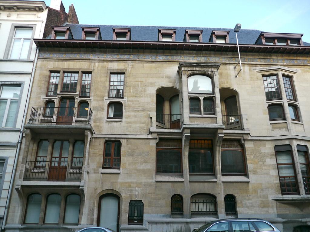 Bruxelles belgique rue de livourne h tel otlet ilse for Architecte 3d 2001