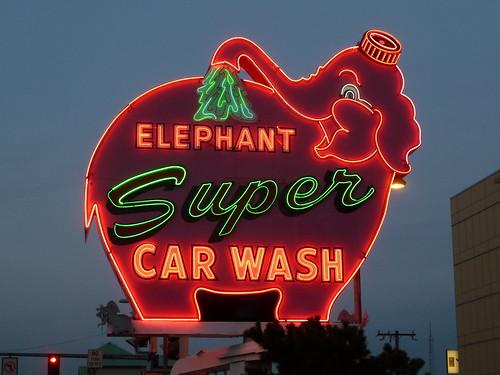 Elephant Super Car Wash - Seattle