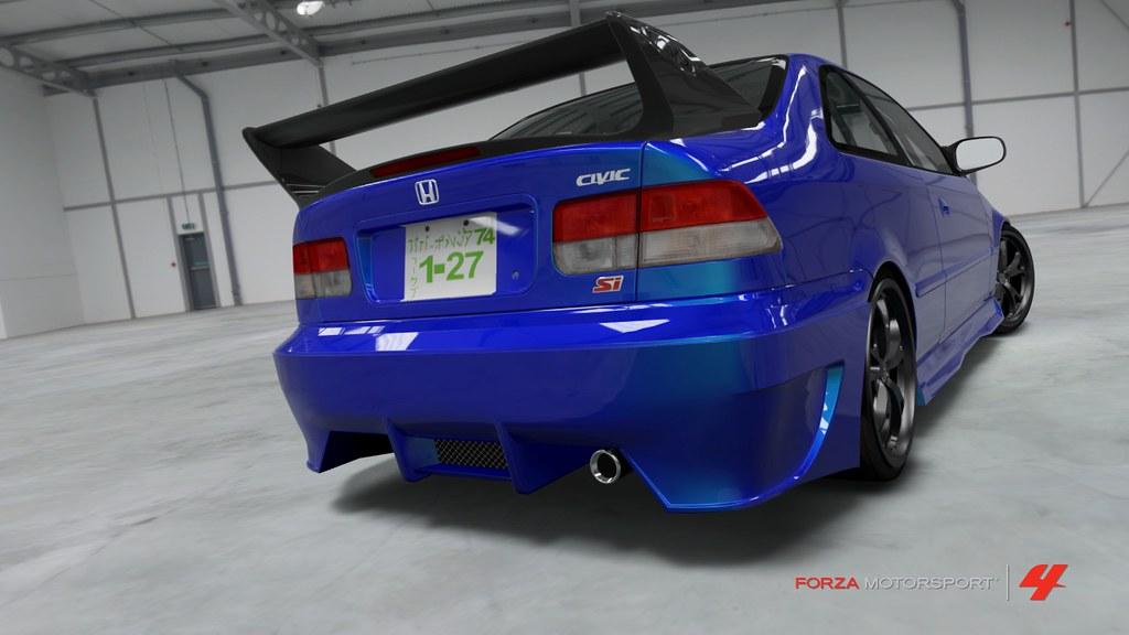 ... 1999 Honda Civic Si Coupe   By Papa Borgia 74