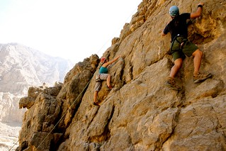 November 6:  Rock Climbing in RAK | by myhandprint