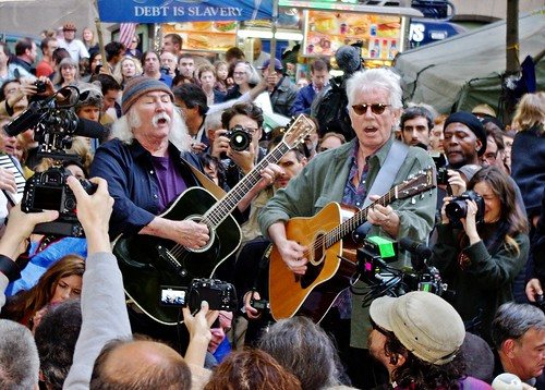 David Crosby Graham Nash Occupy Wall Street 2011 Shankbone 3 | by david_shankbone