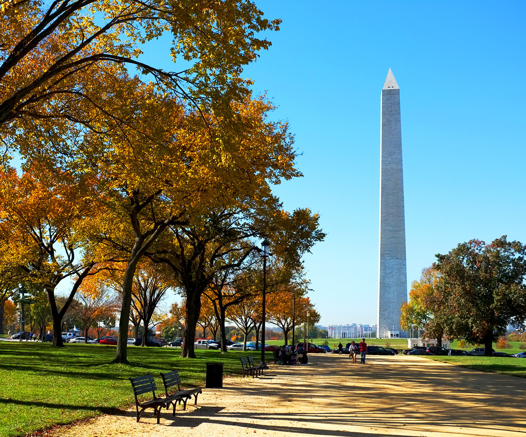Washington Dc Mall >> Autumn and the Washington Monument | The national mall is ve… | Flickr