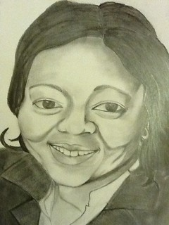 Tonal Drawing of my Mom | by Mickey's Artistry