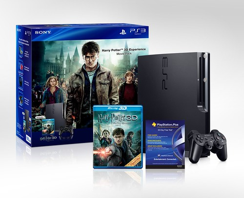 The Harry Potter 3D Experience Movie Pack PS3 bundle | by PlayStation.Blog