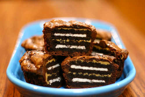 Oreo And Peanut Butter Brownie Cakes Oreo And Peanut