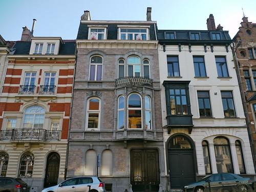Bruxelles belgique maison d 39 inspiration n oclassique de for Assurance gens de maison belgique