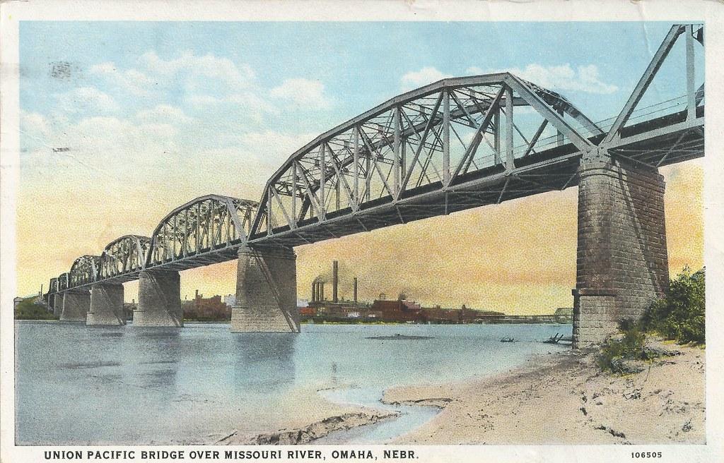 union pacific railroad  bridge  omaha  nebraska  council b u2026