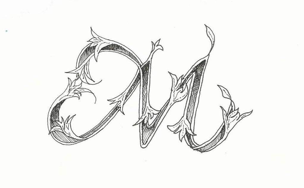 Pen In Letter M