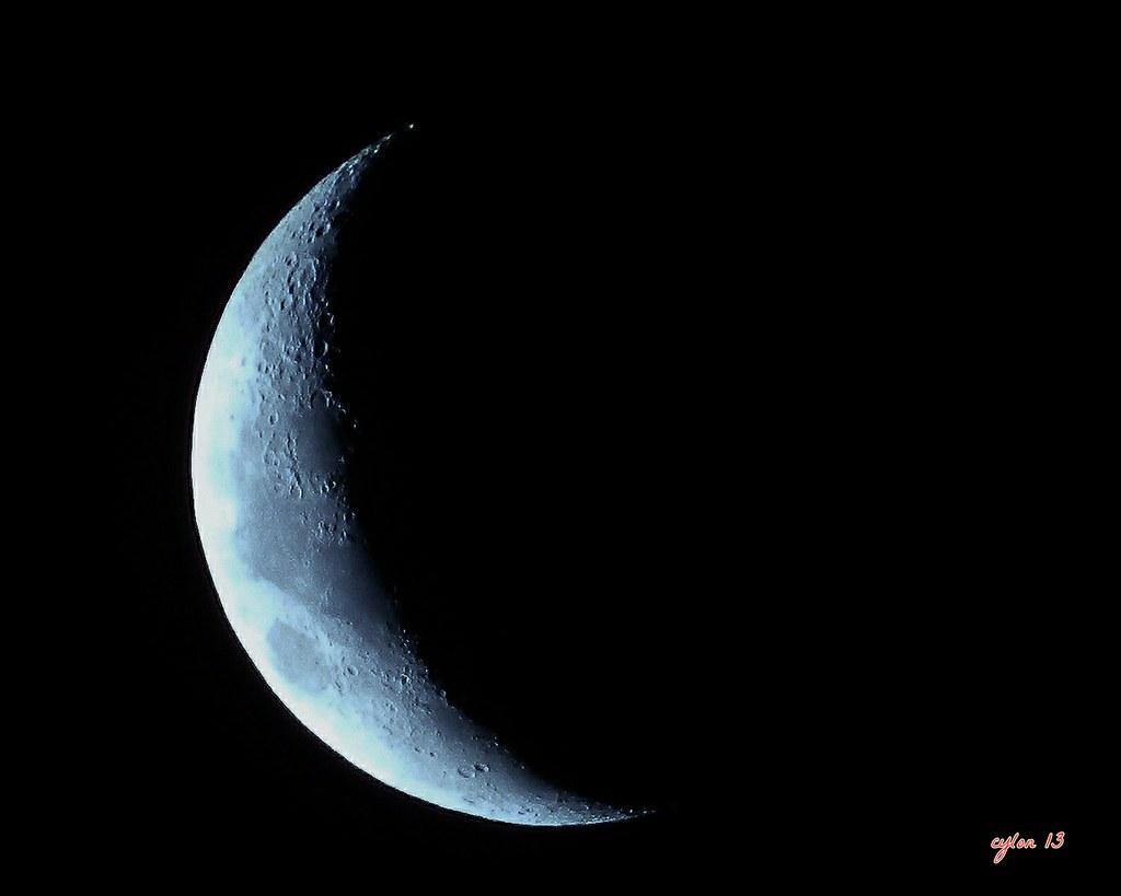 luna cuarto menguante | nikon coolpix p500 | mesana62 | Flickr