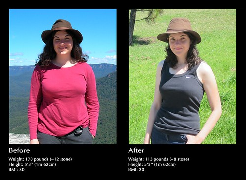Weight Loss | The photo on the left was taken on February ...