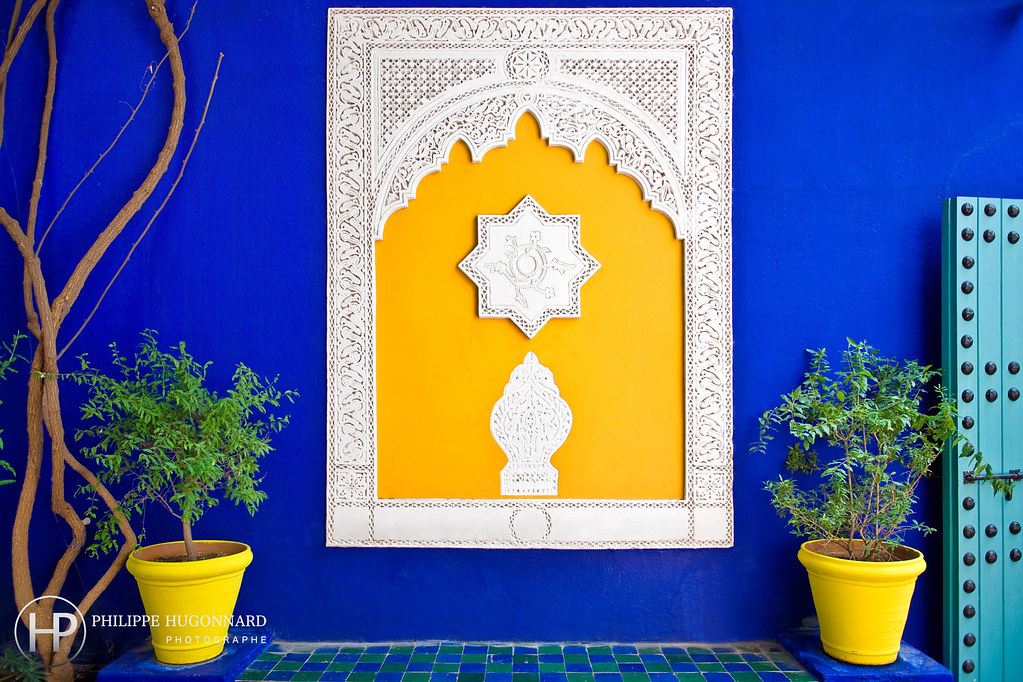 le jardin majorelle de marrakech au maroc 01 philippe hug flickr. Black Bedroom Furniture Sets. Home Design Ideas
