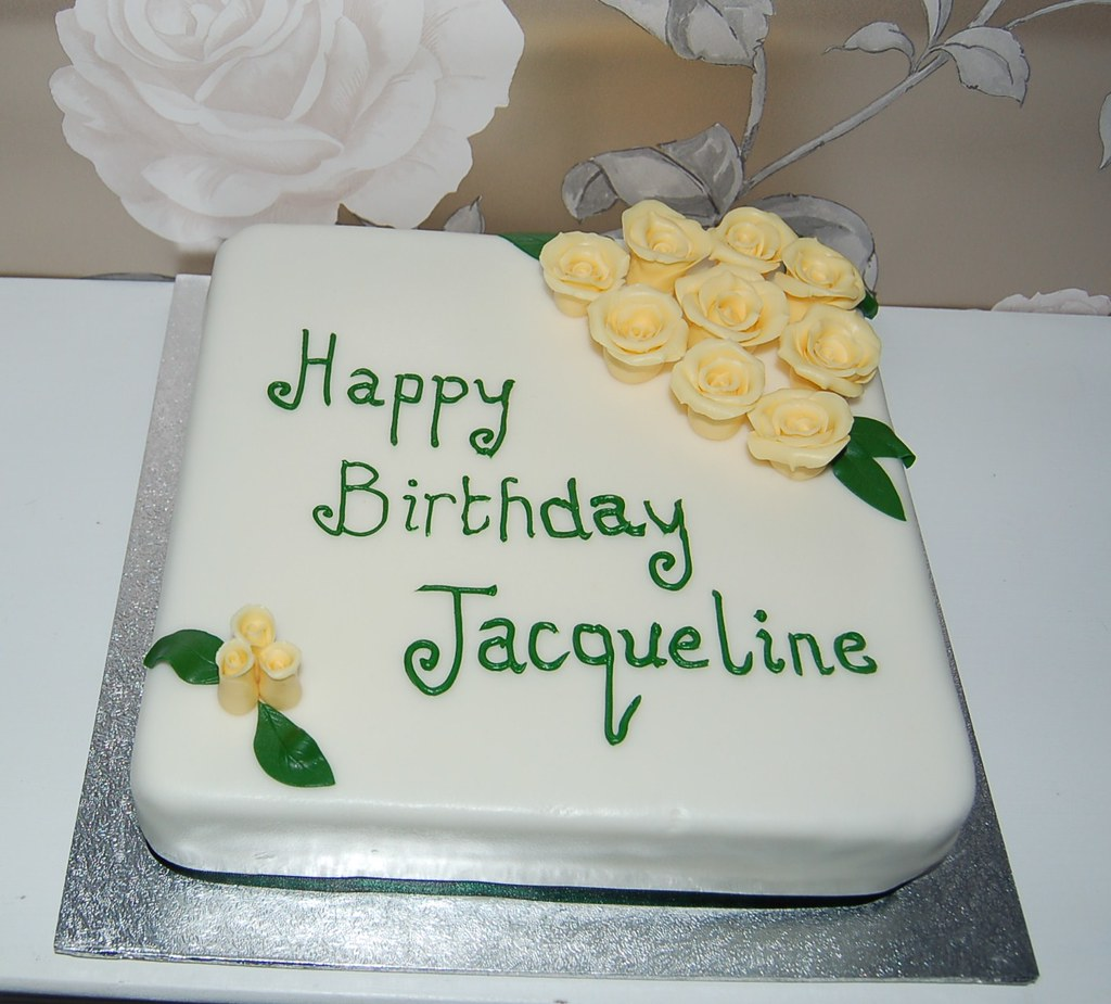 Happy Birthday Jackie Cake Pictures