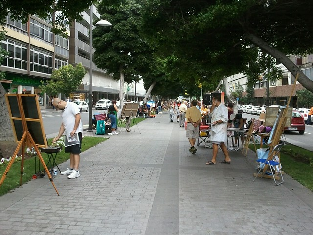 xvi concurso de pintura r pida al aire libre ciudad de la