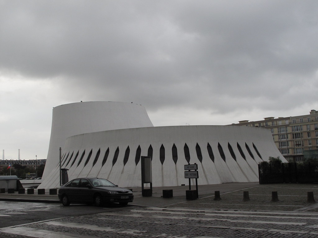 Le havre the volcano le volcan the house of culture for 3d architecture le havre
