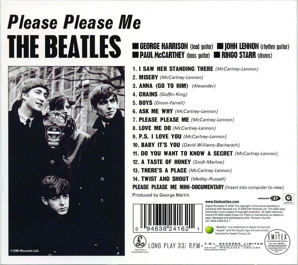 Please Please Me Remastered 02 1b The Beatles Album