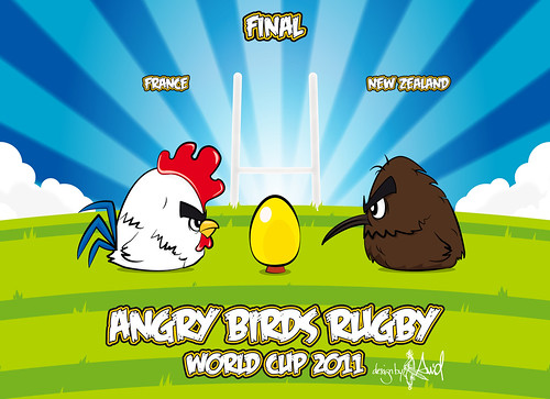 angry birds rugby world cup 2011 | by .Avid.