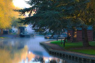 Man by River, Cambridge (HDR) | by eFRAME.co.uk