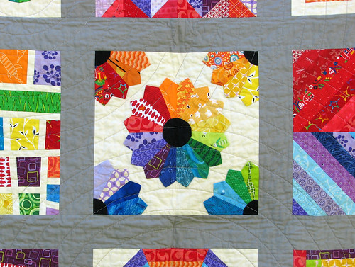 Closeup of Dresden Plate | by KCQuilts