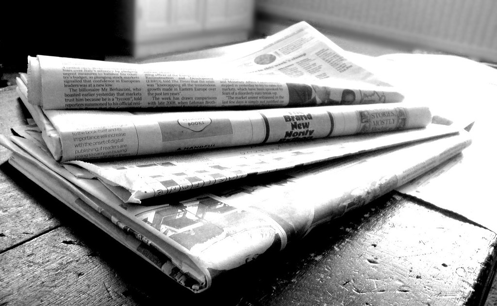 Newspaper examples