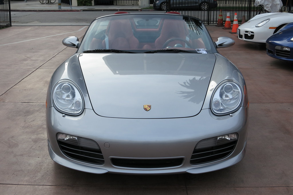 2008 Porsche Boxster Rs 60 Spyder Front Heres A Stunning Flickr