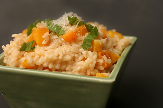 butternut squash risotto 7 | by crumblycookie