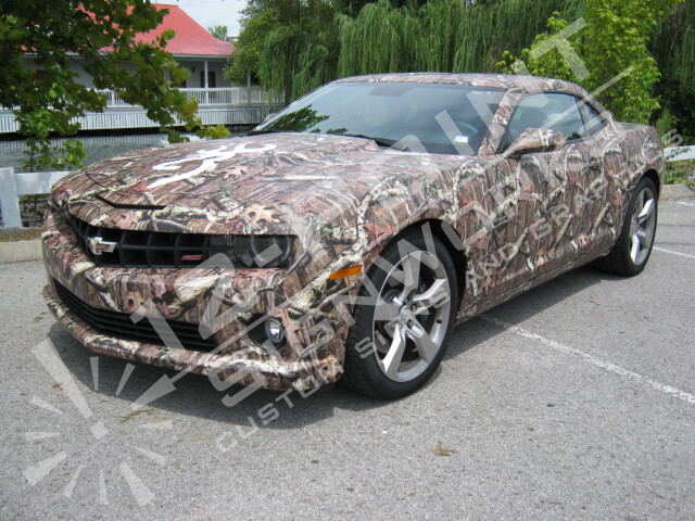 Camouflage Camaro Wrap Sponsored By Browning Browning