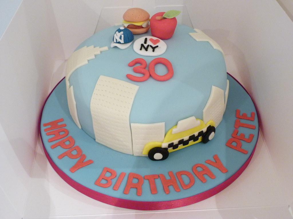 New York Birthday Cake Tina Olsson Flickr