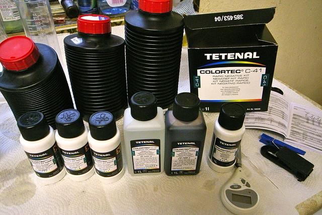 Tetenal C41 Kit
