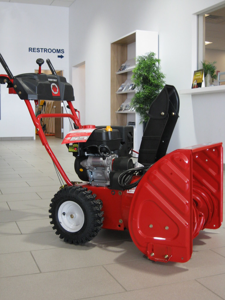 Troy Bilt Snow Blower For The Month Of November We Re