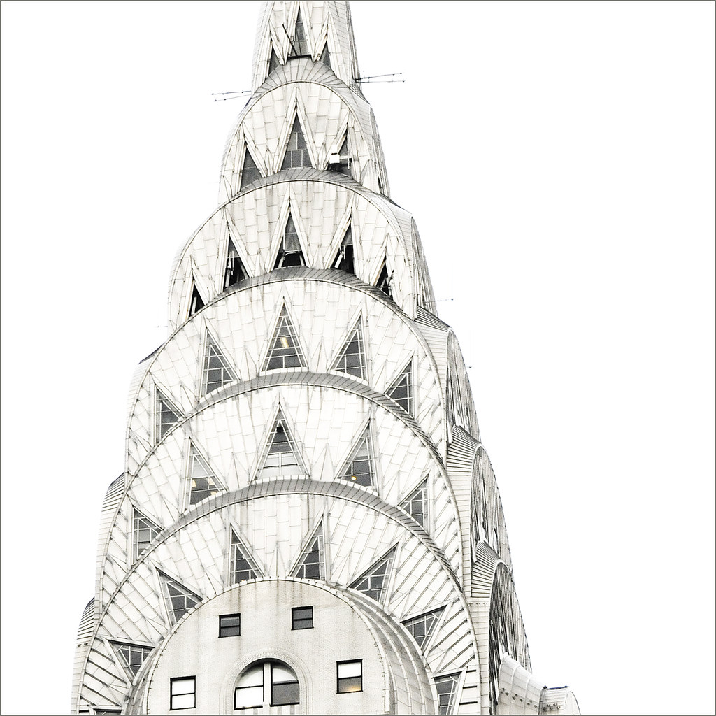 how to draw the chrysler building