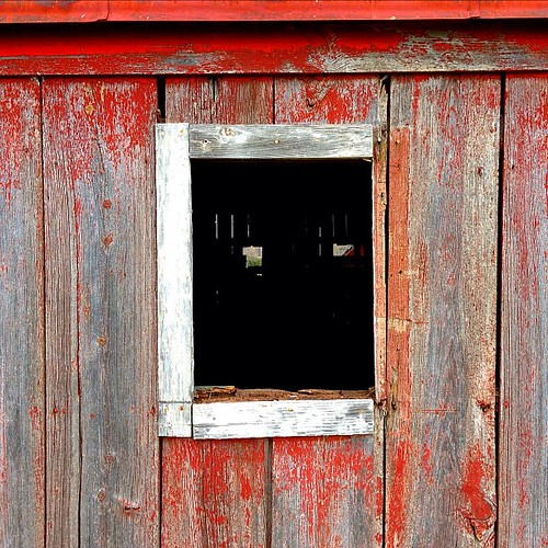 Old barn worn paint red window rustic window wood for Picture window