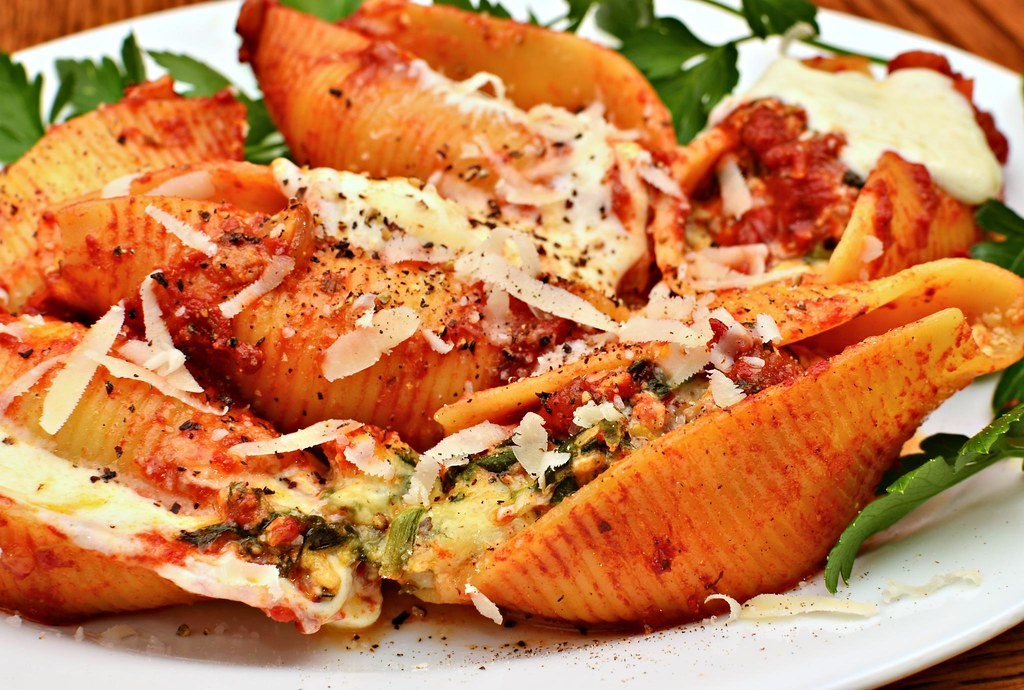 Image result for stuffed shells