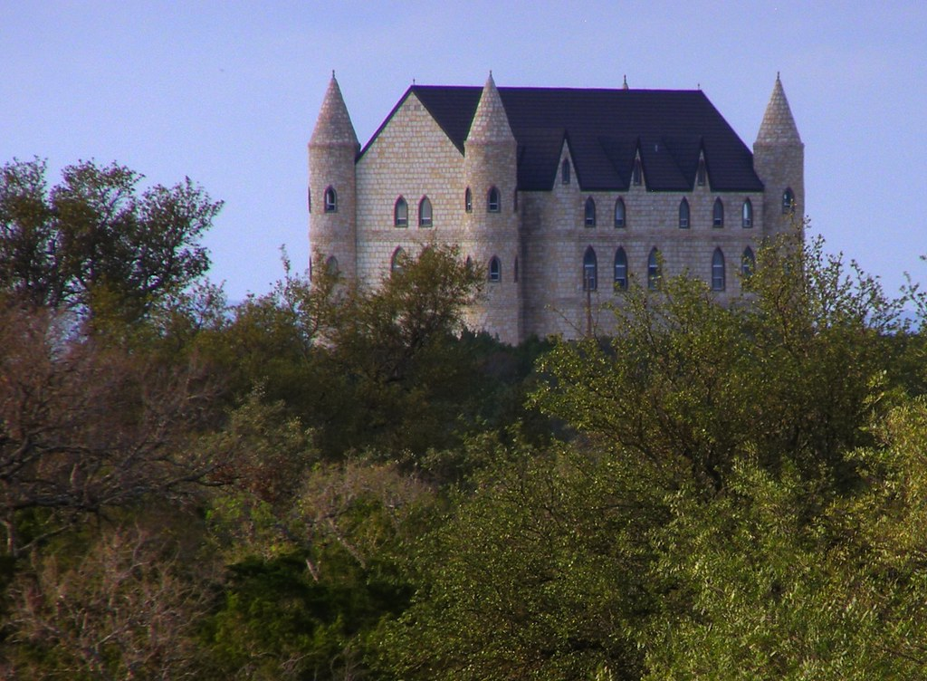 Falkenstein Castle Near Marble Falls And Burnet Texas